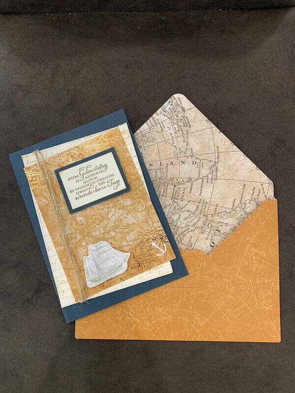 Karte und Kuvert