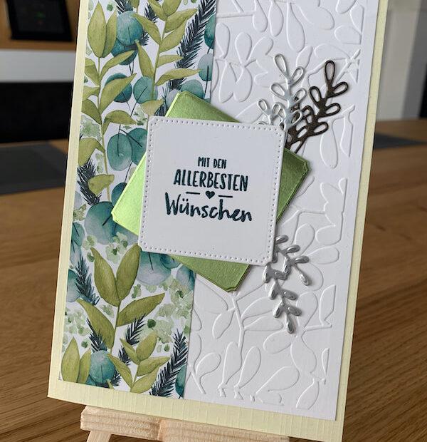 Geburtstagskarte Ewiges Grün