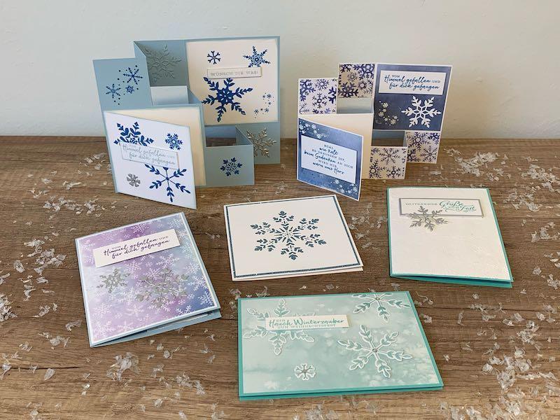 Weihnachtskarten_Schneeflockentraum