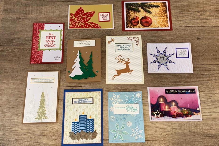 Weihnachtskarten-alle