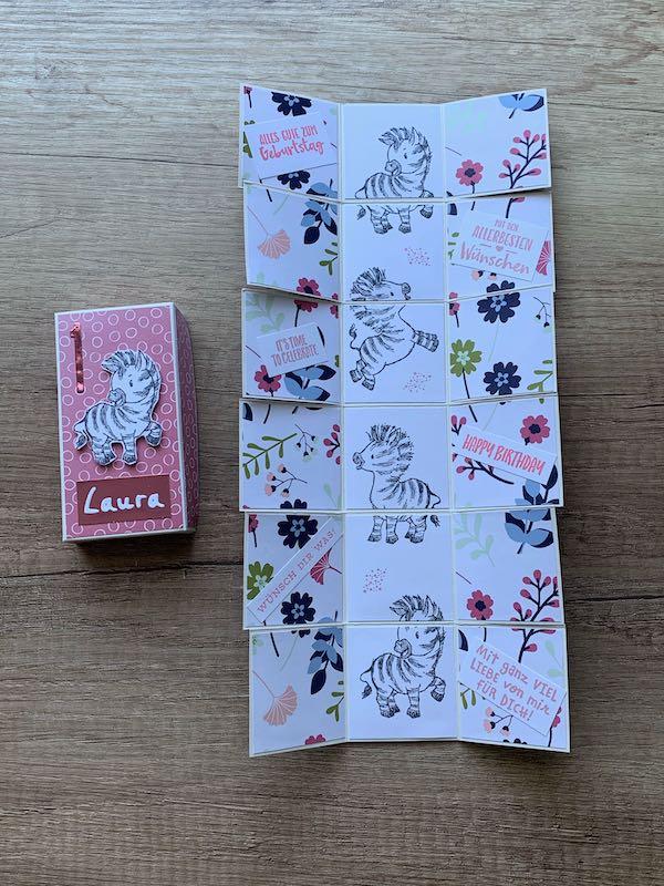 Raupenkartenbox
