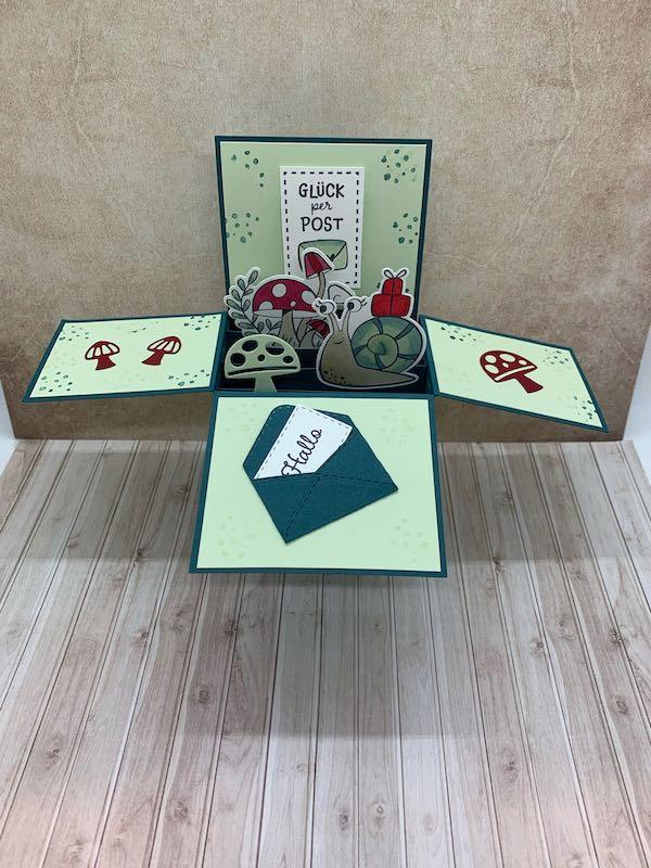Card-in-a-Box_Schneckenpost_offen