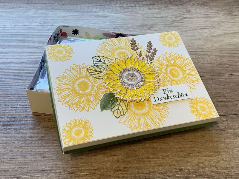 Geschenkbox_Sonnenblumen_offen