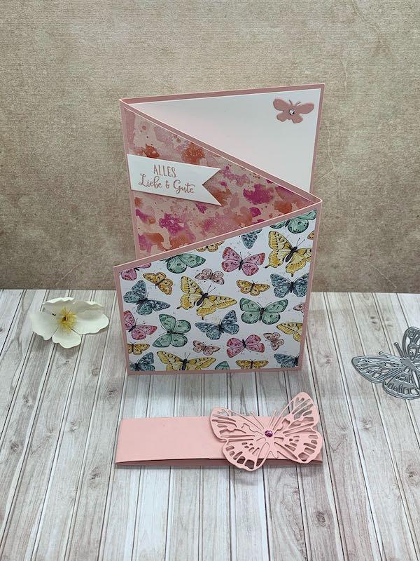 Z-Fold-Card_Schmetterling_Kirschblüte_stehend