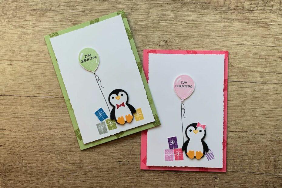 Geburtstagskarten_Pinguin-Party