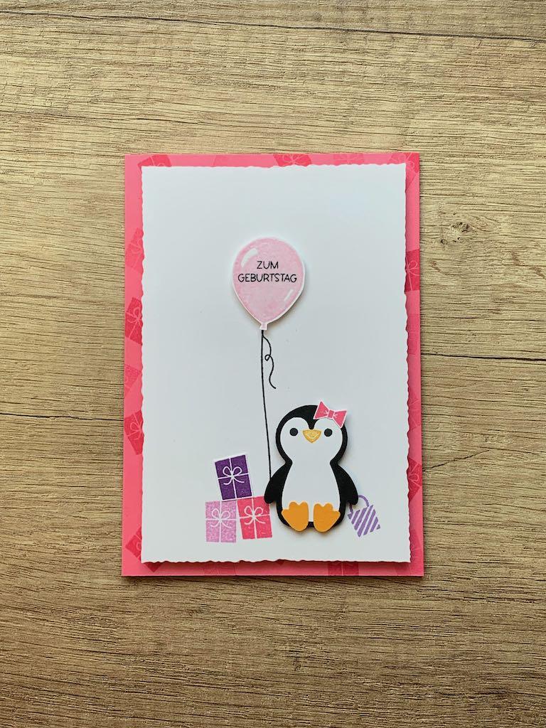 PInuin-Party_Geburtstagskarte_Bonbonrosa